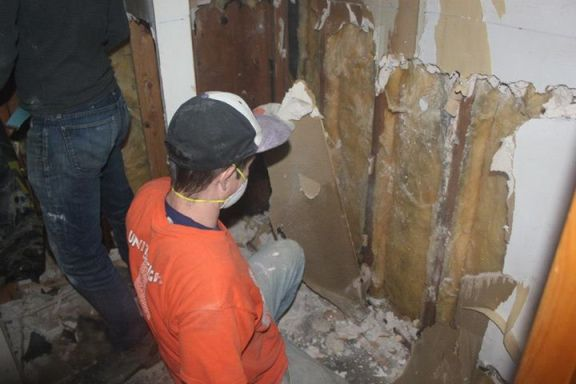Mold remediation. Image by Respond & Rebuild
